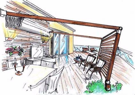 pergola terrazzo pergola in terrazza per un living esterno