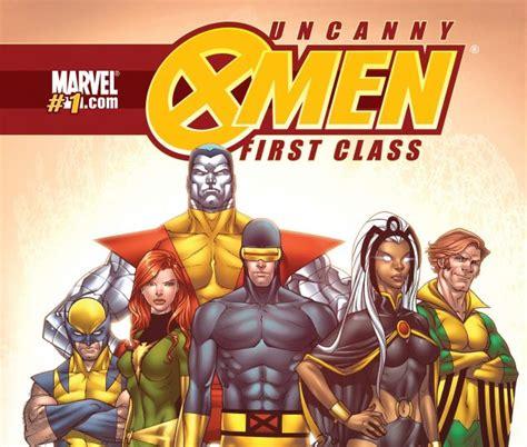Marvel X Class 1 uncanny class 2009 1 comics marvel