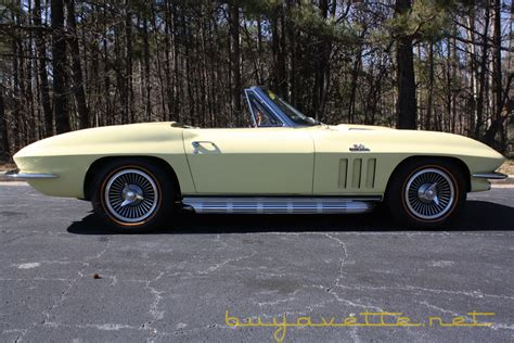1966 corvette 427 450hp convertible for sale at buyavette