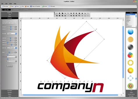 design logo creator studio v5 logo maker free download and reviews fileforum