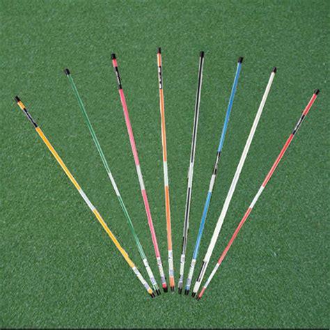 Stick Golf Cover Iron Set Pelindung a pair golf alignment practice rod stick swing trainer free cap marker ebay