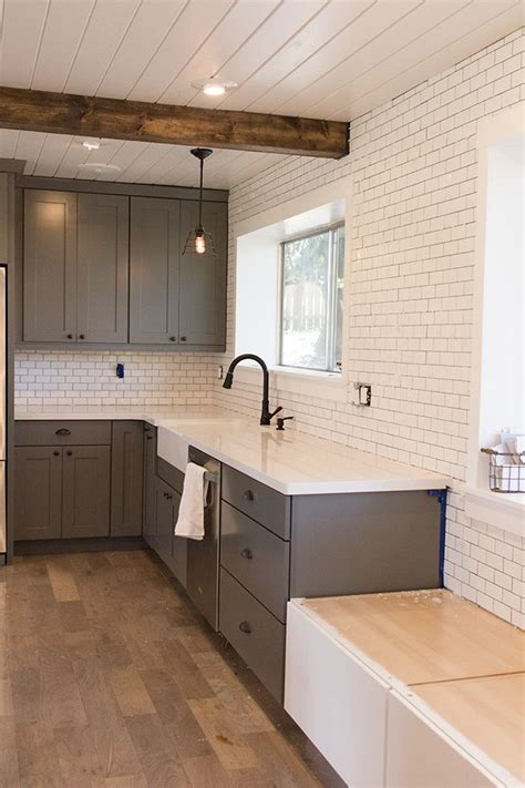 Tile Shiplap Sue Kitchen Chronicles A Diy Subway Tile