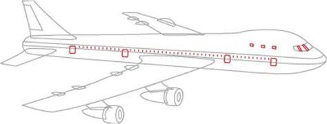 Draw A Plan passenger plane drawing www pixshark com images