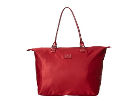 lipault plume tote bag at zappos