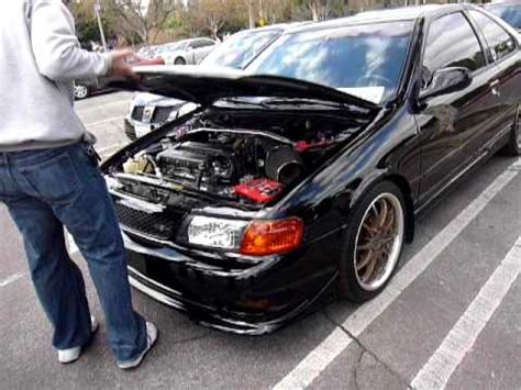 how cars engines work 1998 nissan 200sx parking system nissan 200sx se r mod engine at nismolism2011 youtube