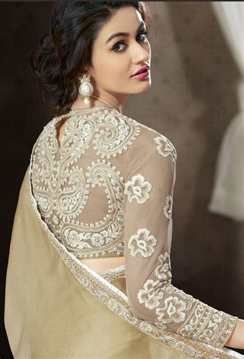 saree net blouse designs best 25 designer sarees ideas on pinterest indian