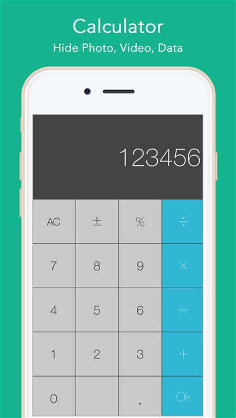 calculator hide app app shopper calculator hide photo video data pro