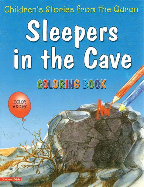 Sleepers The Book by Sleepers In The Cave Colouring Book Goodword Islamic