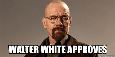 Walter White Memes - the scientific method the step by step guide on how to