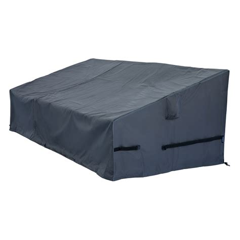 3 seater outdoor cover polytuf samara 3 seater lounge cover bunnings warehouse