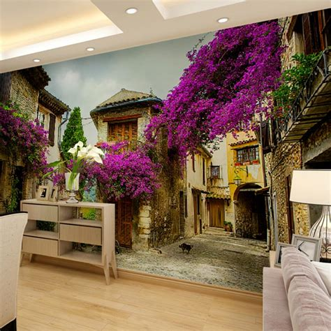 european home decor stores aliexpress com buy custom home decor wall murals papel de parede european provence street view