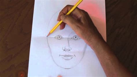 how to draw a portrait how to draw a simple and easy self portrait