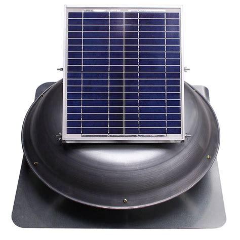 1000 cfm attic fan ventamatic cool attic 1000 cfm grey solar powered roof