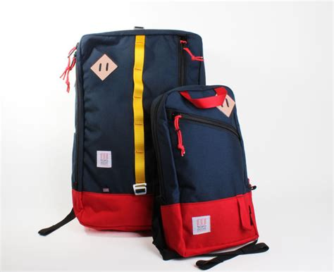 topo designs travel bag and trip pack cool