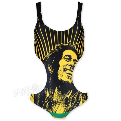 jamaican colored bathing suit bob marley rays monokini swimsuit at rastaempire