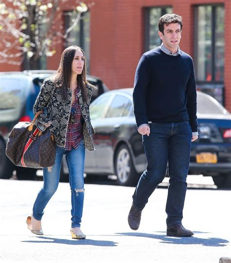 b j the of a new york b j novak in b j novak out for a stroll in new york city