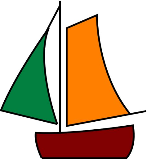 boat clipart sailing boat white clip at clker vector clip