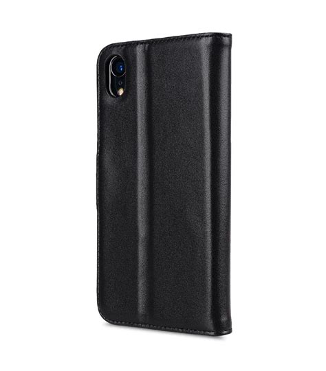 premium leather for apple iphone xr wallet book clear type stand