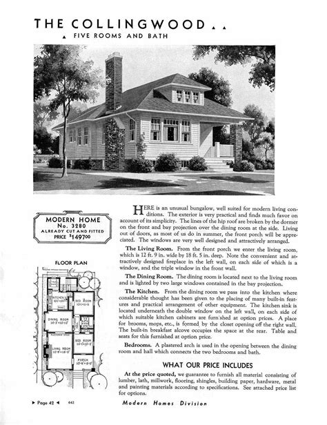 sears house sears 1930 bungalow house plans newhairstylesformen2014 com