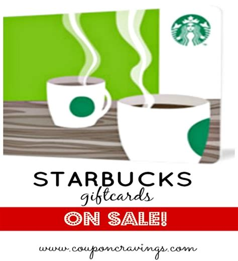 Starbucks Discount Gift Cards - where to find gift cards for starbucks more at a discounted price too