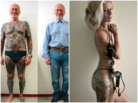 what do yakuza tattoo look like ever wondered what tattoos look like when you re old