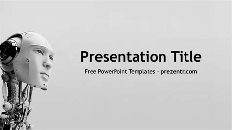 ppt templates for robotics free download powerpoint template artificial intelligence free image