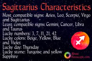 sagittarius traits personality and characteristics