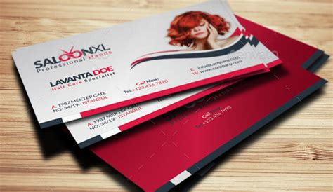 hair business cards templates 15 hair salon business card psds