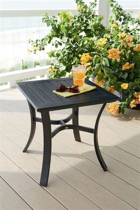 la z boy outdoor furniture la z boy outdoor side table limited availability outdoor living patio furniture