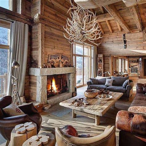 Chalet Bois Interieur l int 233 rieur bois rustique garantie pour la chaleur et le