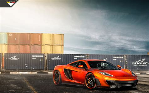 orange mclaren wallpaper vorsteiner mclaren mp4 vx volcano orange wallpaper hd