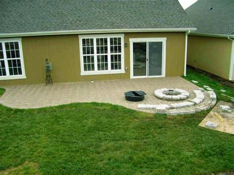 paver patio ideas ayanahouse