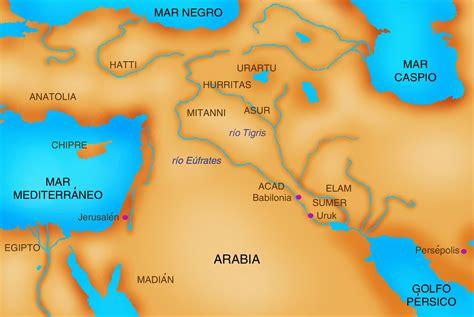 imagenes antigua mesopotamia profesor de historia geograf 237 a y arte mapas de las