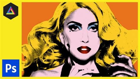 andy from indy style create andy warhol style pop art lady ga ga photoshop