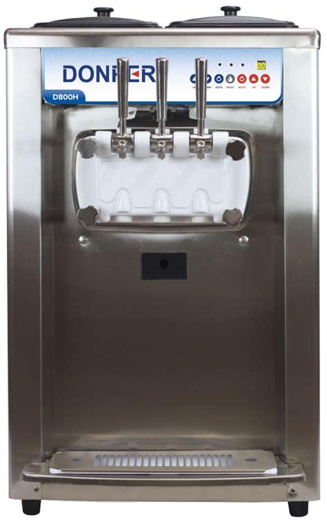 Countertop Machine by Soft Serve Machine Countertop Donper D800h Value Bundle