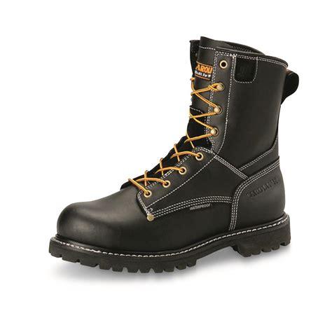 carolina logger boots review carolina s waterproof 8 quot logger work boots 681433