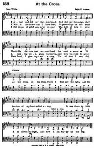 That Old Rugged Cross Lyrics Christian Hymns On Pinterest Hymn Lyrics Because He