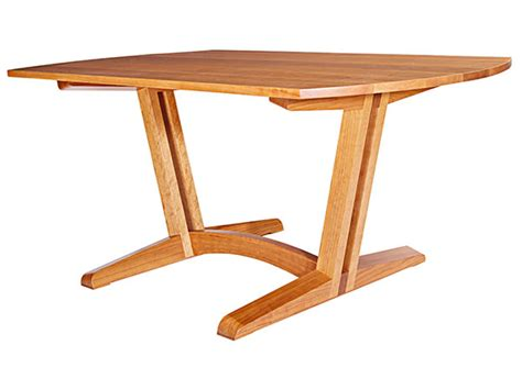contemporary dining room table woodworking plan from wood