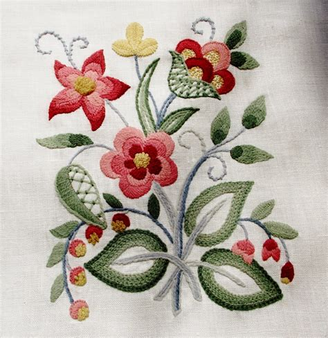 embroidery design kits canadian needle nana chintz leads me to crewel