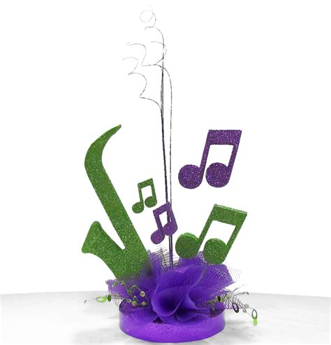 jazz themed decorations theme centerpiece ideas awesome events