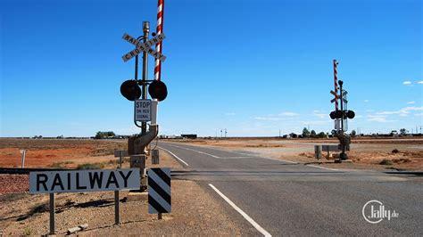 Railroad Crossing L Base by Australien Woomera Australien Sonstiges Railway