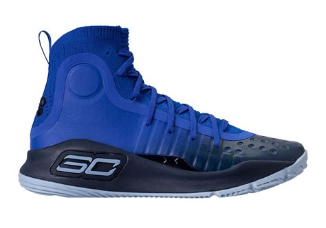Curry 4 Black Blue ua curry 4 quot away quot release date sneakernews