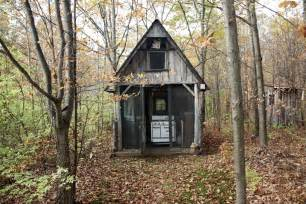 Small Cabin In The Woods Offgrid Life February 2014