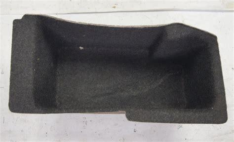 chevy corvette  trunk compartment storage liner  oem dark grey