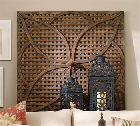 lattice wall decor garden wood lattice petal wall pickfair