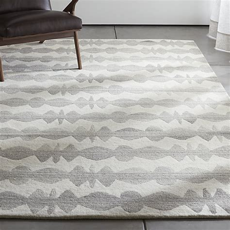 crate and barrel striped rug graphite neutral striped wool rug crate and barrel