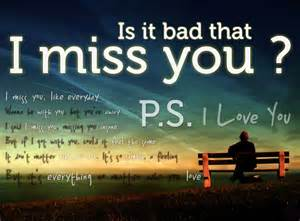 Is it bad that i miss you pictures photos and images for facebook