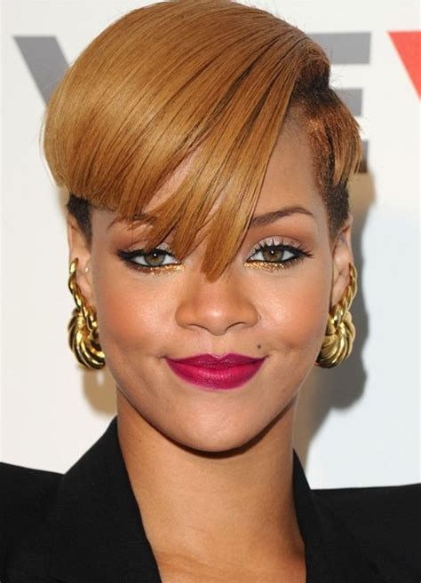 lisa rihanne hair cut rihanna hairstyles aysmetric short haircut pretty designs