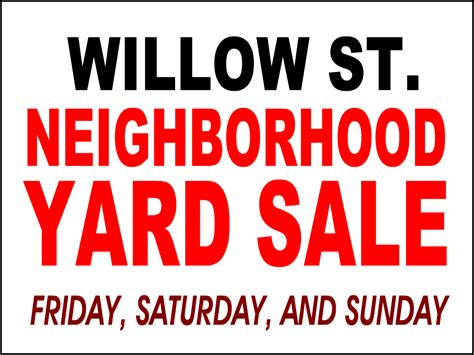 yard sale template yard signs bandit signs road side sign coroplast