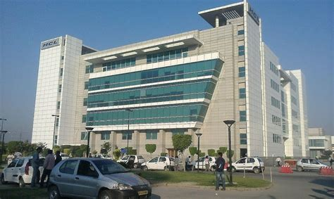 In Hcl Noida For Mba Marketing by Building Infra 1 Hcl Technologies Office Photo